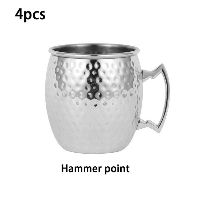 Stainless Steel Cocktail Mug