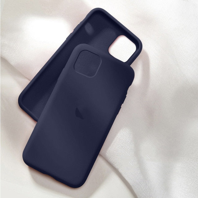 Silicon Case For iPhone 11 12 pro max