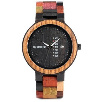 Beautiful Vintage Wooden Watch for Men & Women