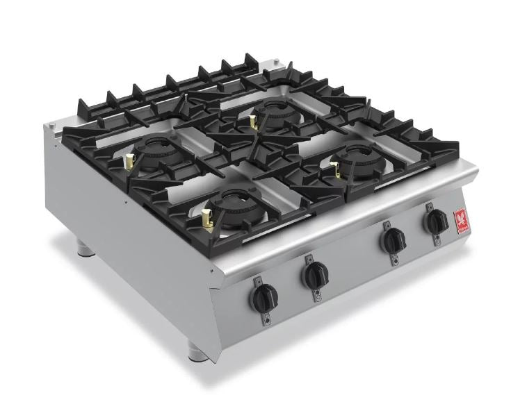 Falcon Four Burner Countertop Boiling Hob Gas G9084