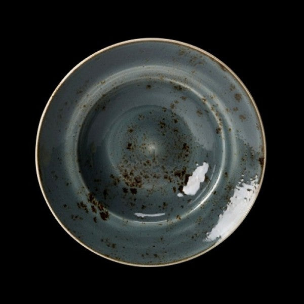 "Steelite Craft Blue Bowl Nouveau 27cm 10 5/8"" 118cl (Case Size 6)"