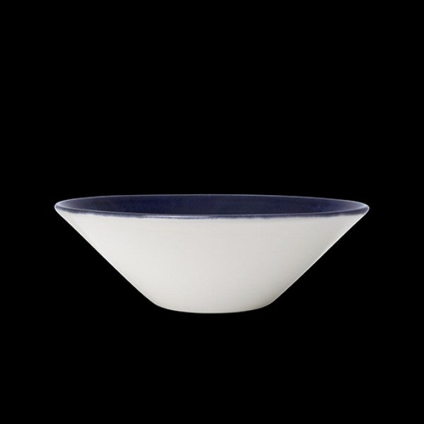 "Steelite Vesuvius Lapis Essence Bowl 16.5cm (6 1/2"") 58.5cl (Case Size 12)"