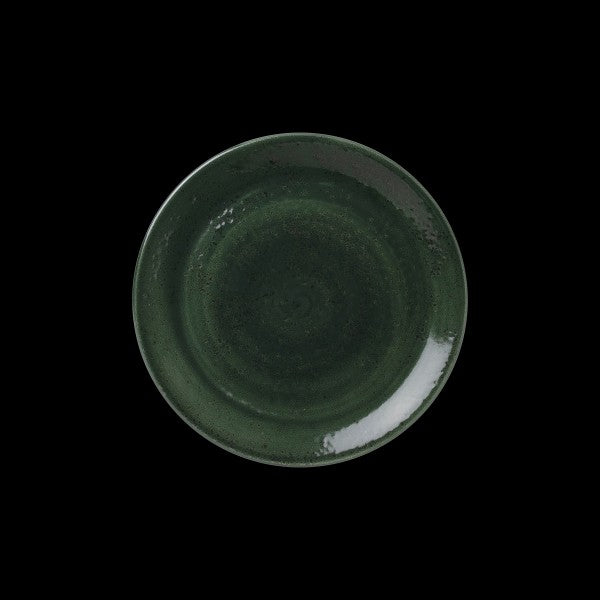 "Steelite Vesuvius Burnt Emerald Coupe Plate 15.25cm (6"") (Case Size 12)"