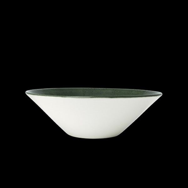 "Steelite Vesuvius Burnt Emerald Essence Bowl 16.5cm (6 1/2"") 58.5cl (Case Size 12)"
