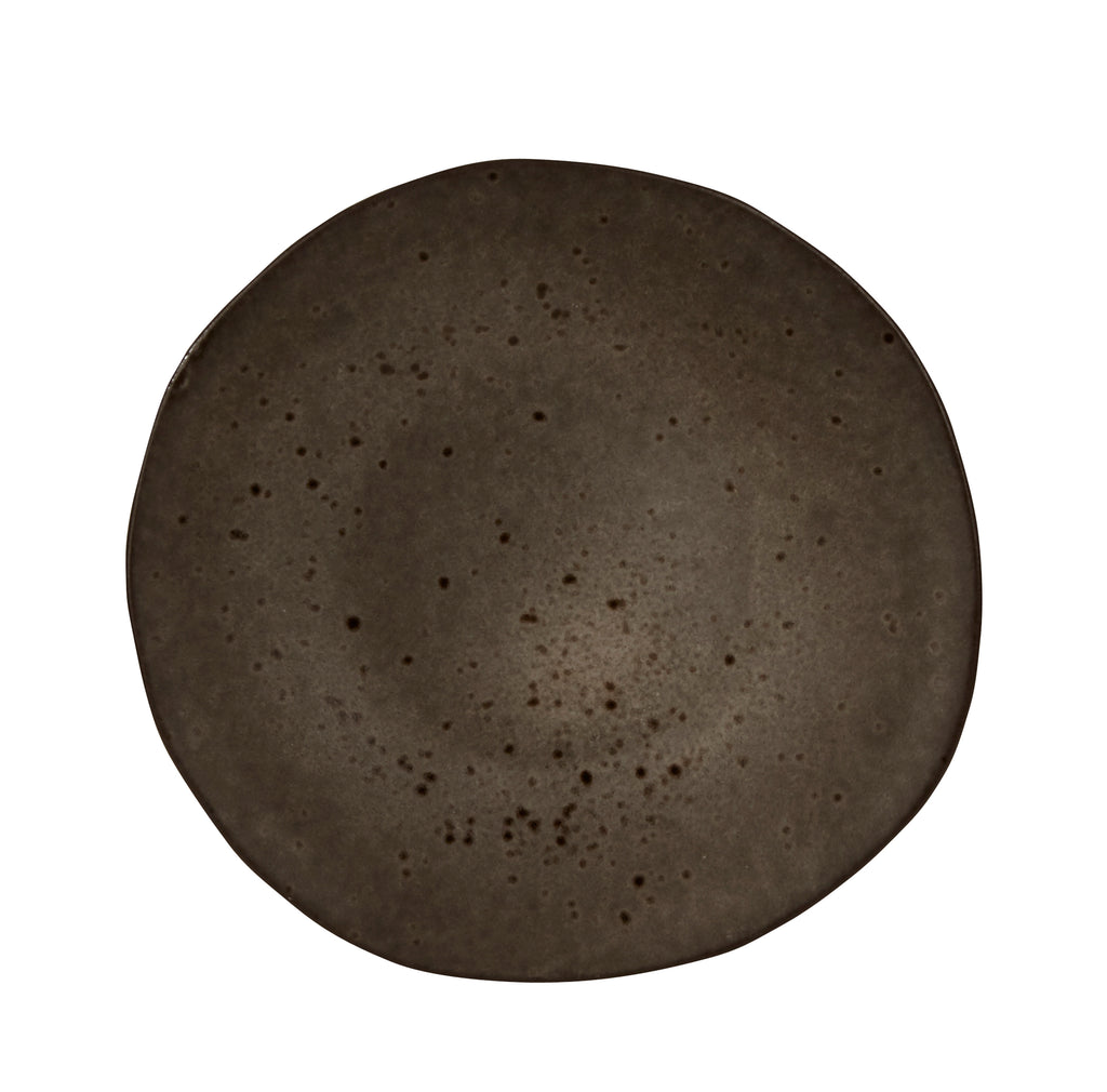 Rustico Black Ironstone Plate 16cm (Pack Of 8)