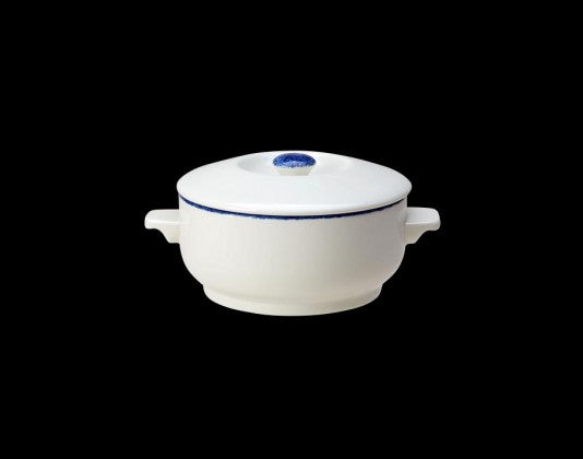 Steelite Blue Dapple  Soup Bowl Cass Base 42.5cl 15oz (Case Size 6)