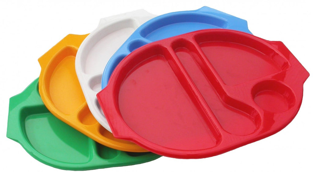 Polycarbonate Large Meal Tray 38 x 28cm