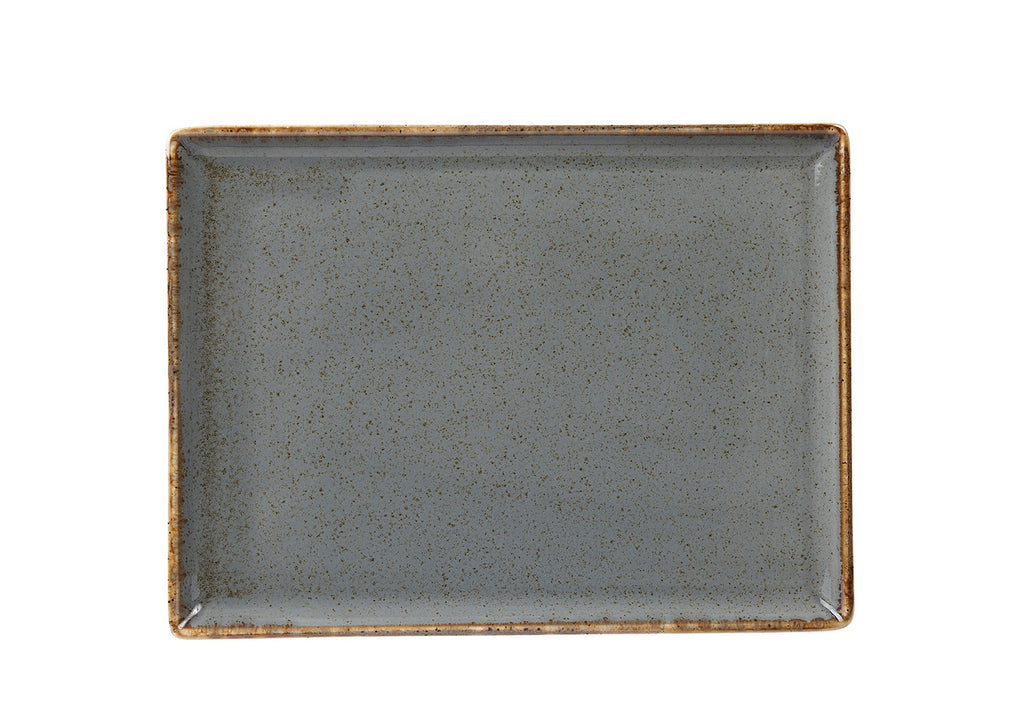 Porcelite Seasons Storm Rectangular Platter 35x25cm (Case Size 6)