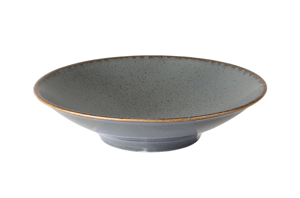 Porcelite Seasons Storm Footed Bowl 26cm (Case Size 6)