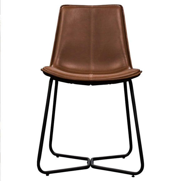 Hawking Chair Brown (2pk) W470 x D550 x H860mm