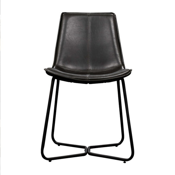 Hawking Chair Charcoal (2pk) W470 x D550 x H860mm