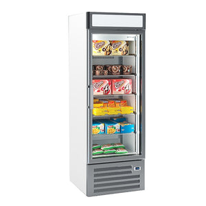 Infrico Single Glass Door Freezer Merchandiser 500L