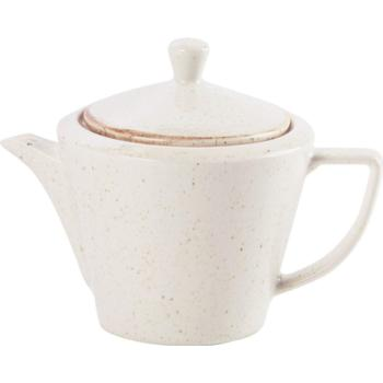 Porcelite Seasons Oatmeal Conic Tea Pot 50cl/18oz (Case Size 6)