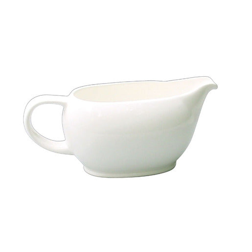Alchemy White Sauce Boat 13.75cl - Cater-Connect
