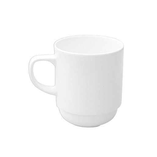 Alchemy White Mug Stackable 27.5cl - Cater-Connect