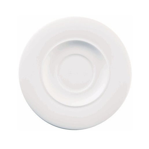 Ambience Saucer White 16.2cm (Pack Of 6) - Cater-Connect