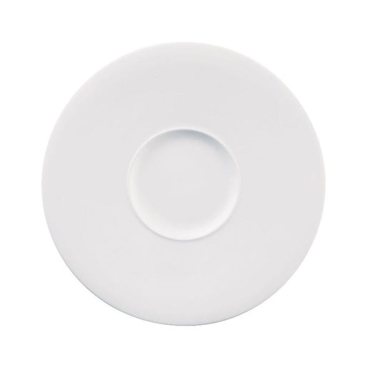 Ambience Plate Wide Rim White 28cm (Pack Of 6) - Cater-Connect