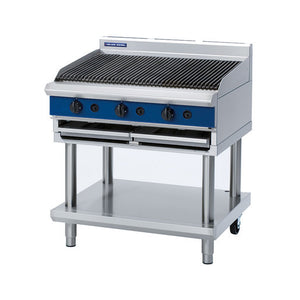 Blue Seal Evolution G59/6 Chargrill On Leg Stand - Cater-Connect