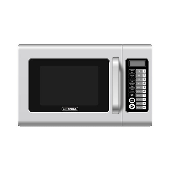 Blizzard Commercial Microwave 1000w