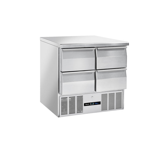 Blizzard BCC2-4D-ECO Compact GN1/1 Counter 4 Drawer - Cater-Connect