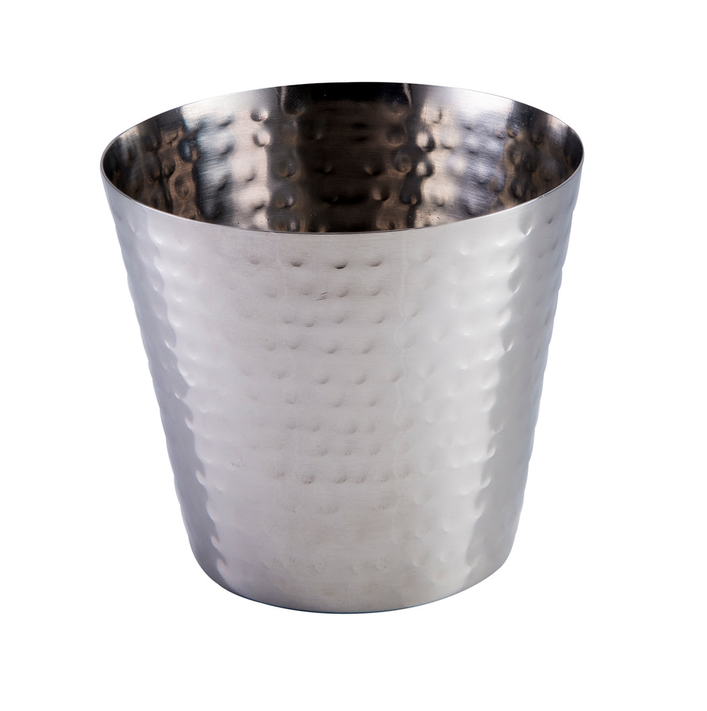 "Hammered Finish Tapered Cup 9cm/3½"" (Case Size 6)"