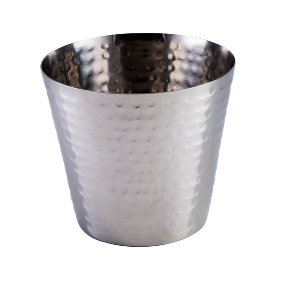 Hammered Finish Tapered Cup 9cm/3½