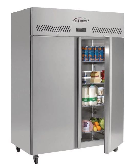Williams Jade Double Door Upright Fridge 620Ltr HJ2-SA