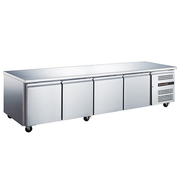 Blizzard LBC4SL 4 Door Slimline Counter Freezer 449L