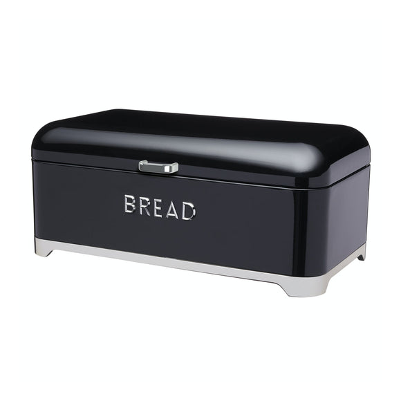 Lovello Black Bread Bin