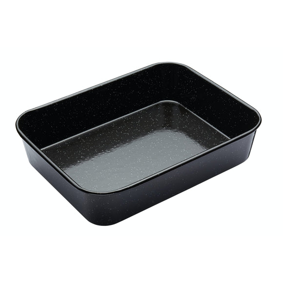 Kitchen Craft MasterClass Vitreous Enamel Roasting Pan 34cm x 26cm x 7cm