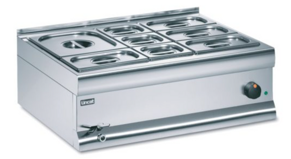 Lincat Silverlink 600 Electric Counter-Top Bain Marie- Wet Heat -Base + Dish Pack