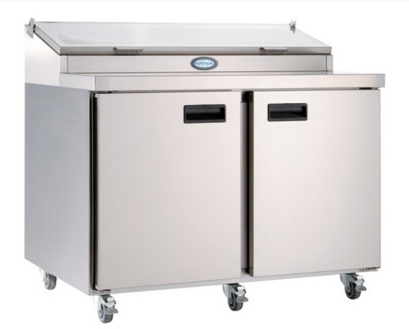 Foster FPS2HR 2 Door Refrigerated Prep Counter