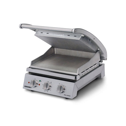 Roband GSA610S Contact Grill - 6 Slice - Smooth - Cater-Connect