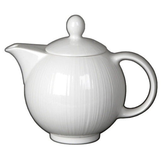 Spyro Teapot White 34cl (Pack Of 6) - Cater-Connect