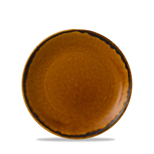 Harvest Plate 6 3/8 inch 16.2cm Brown (Pack Of 12)