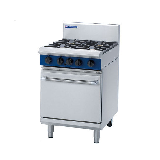 Blue Seal Evolution G504D 4 Burner Static Oven Range - Cater-Connect