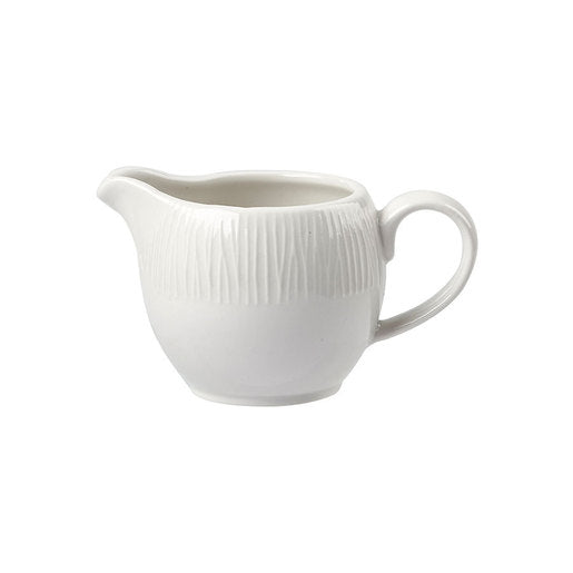 Bamboo Jug White 4oz 11cl - Cater-Connect