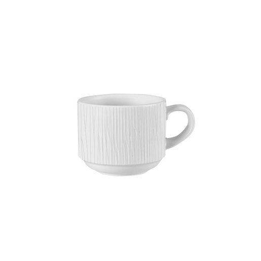 Bamboo Stacking Cup White 3oz (Pack Of 12) - Cater-Connect