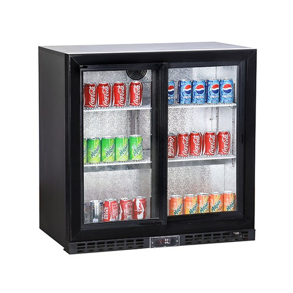 Koldbox Double Sliding Door Bottle Cooler (196 Bottles)