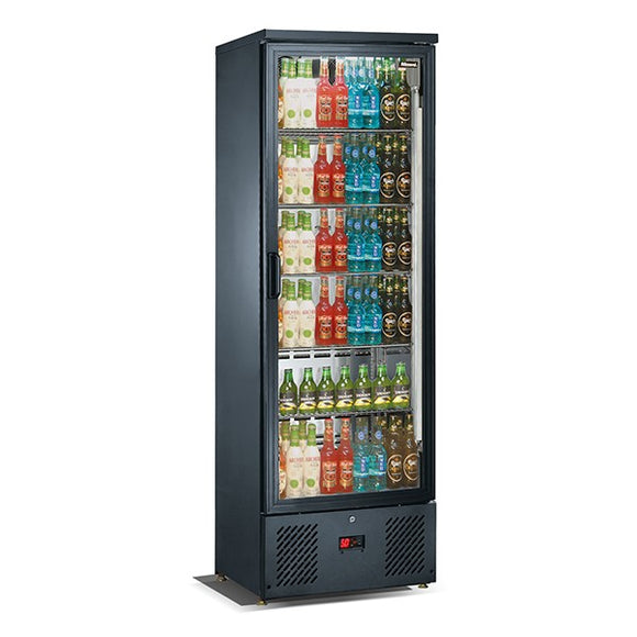 Blizzard Upright Single Door Bar Bottle Cooler (324 Bottles)