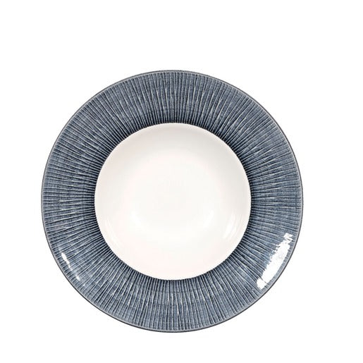 Bamboo Spinwash Mist Deep Coupe Plate 8 7/8 Inch (Pack Of 12) - Cater-Connect