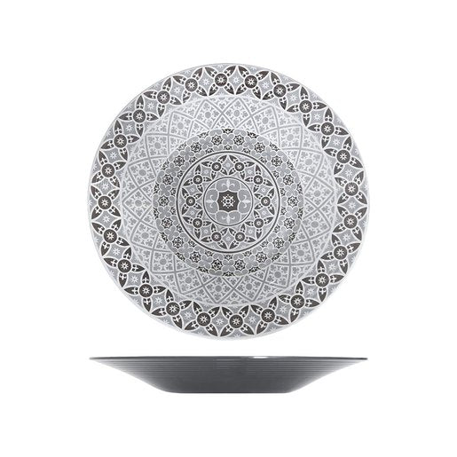 Grey Moroccan Marrakesh Bowl Dia 480 x 60mm (Pack Size 6) - Cater-Connect