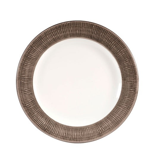 Bamboo Spinwash Dusk Footed Plate (Pack Of 12) - Cater-Connect