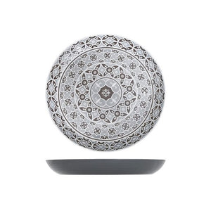 Grey Moroccan Marrakesh Bowl Dia 380 x 45mm (Pack Size 6) - Cater-Connect