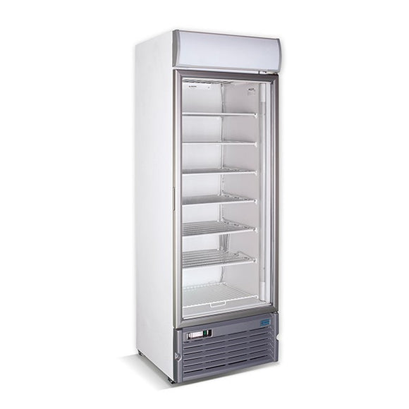 GDS400 SINGLE GLASS DOOR FREEZER DISPLAY 416L