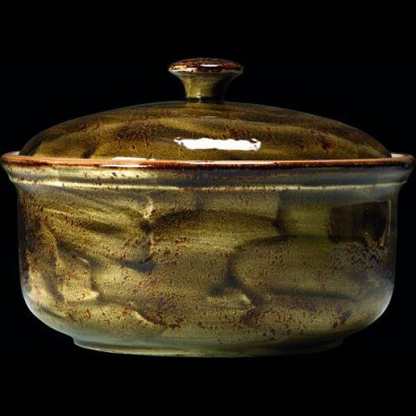 Steelite Craft Brown Lid Casserole 3 Litre (Case Size 2)