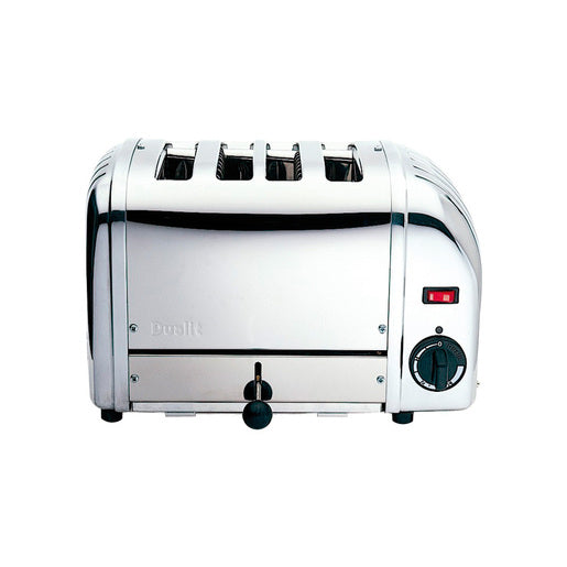 Dualit 43021 4 Slot Bun Toaster - Stainless Steel - Cater-Connect