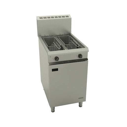 Falcon Chieftain G1848X Gas Fryer 2 Pan 2 Basket - Cater-Connect