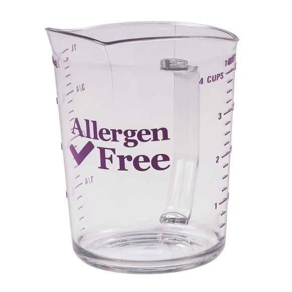 Cambro 1L Allergen-Safe Measuring Cup