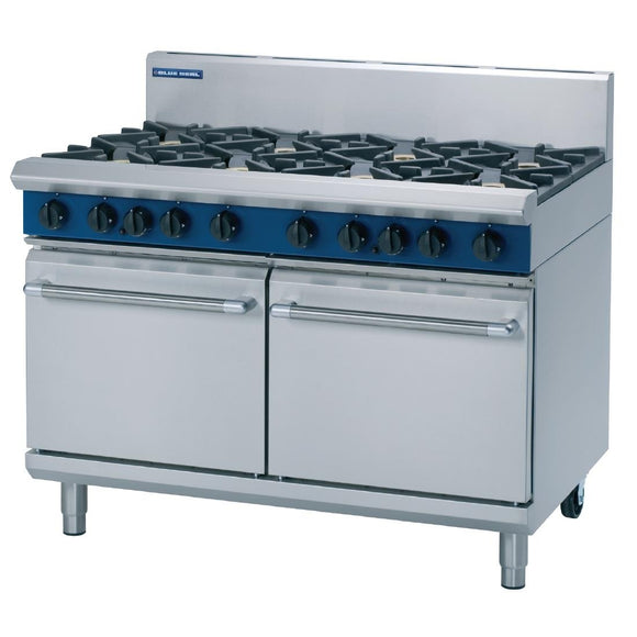 Blue Seal, 8 Burner, Double Oven, 1200mm Oven, Static Oven